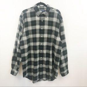 Ralph Lauren Plaid Flannel Button Down Shirt